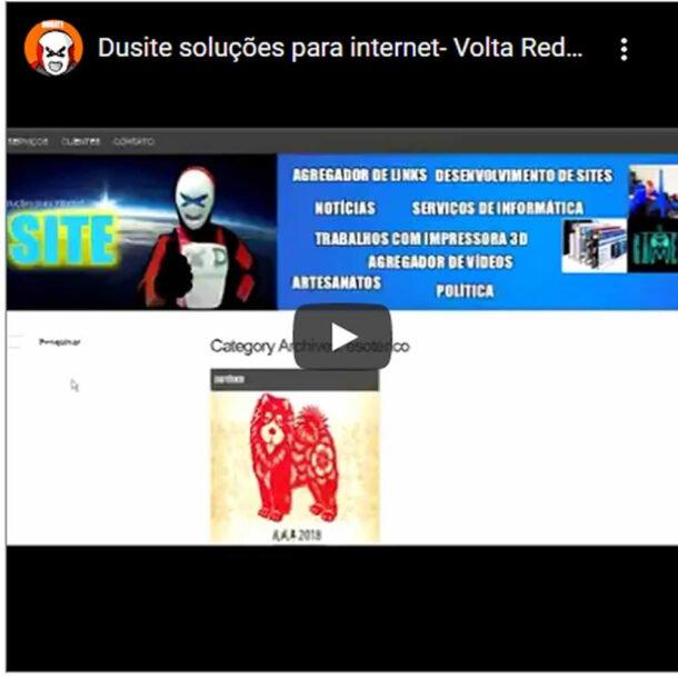 Criação e Desenvolvimento de sites-Volta Redonda -Dusite