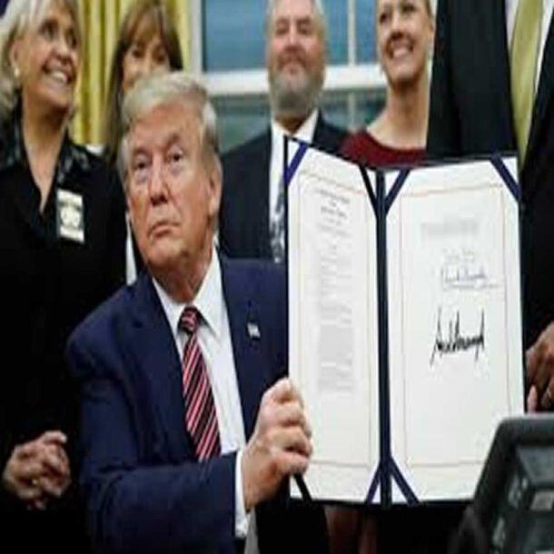 Presidente Trump assina lei de crueldade contra animais