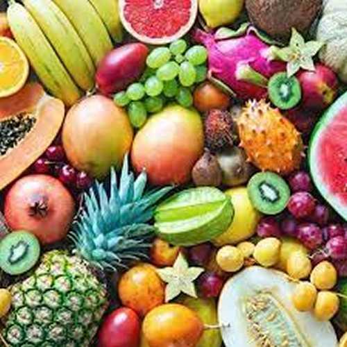 frutas e sementes